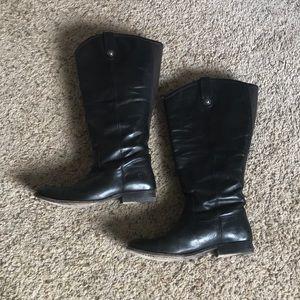 Frye Melissa Button Boots WIDE CALF!
